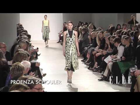 Proenza Schouler . Mercedes Benz Fashion Week Nueva York. Otoño / invierno 2016-2017