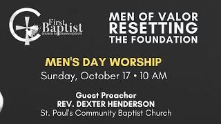 October 17th, 2021: Men's Day Sunday Morning Worship