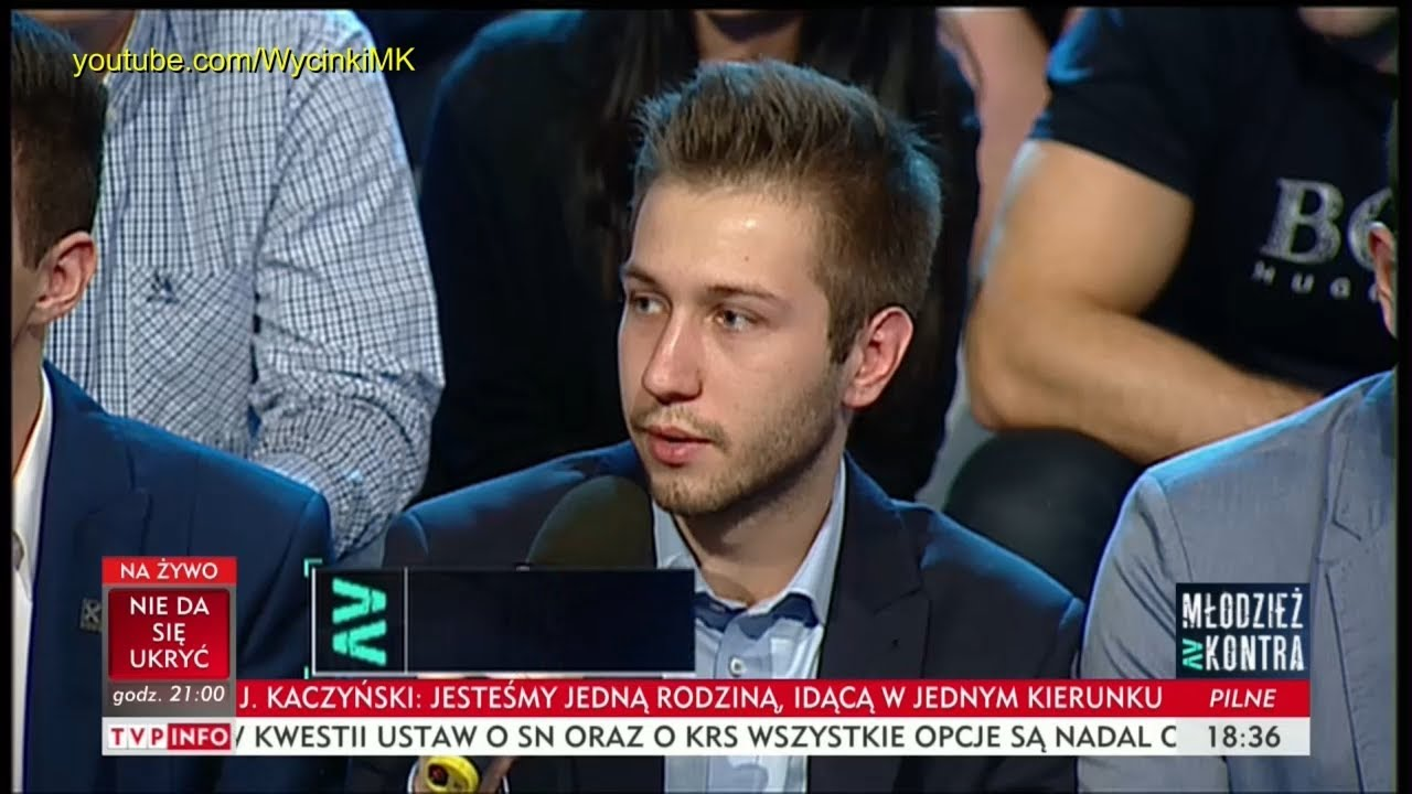 Młodzież kontra 614: Sebastian Zaranek (Kukiz'15) vs Marek Sawicki (PSL) 21.10.2017