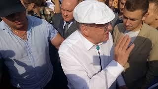 Жириновский. митинг 9 сентября. Пушкинская площадь