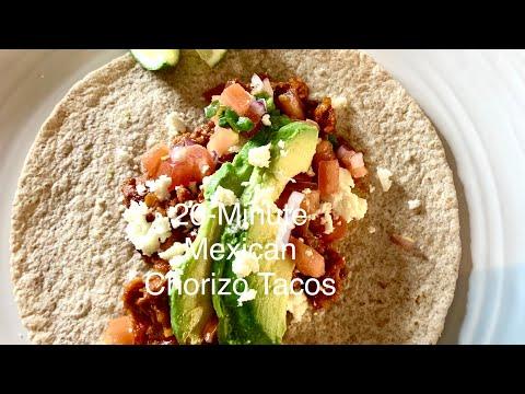 20-Minute Mexican Chorizo Tacos