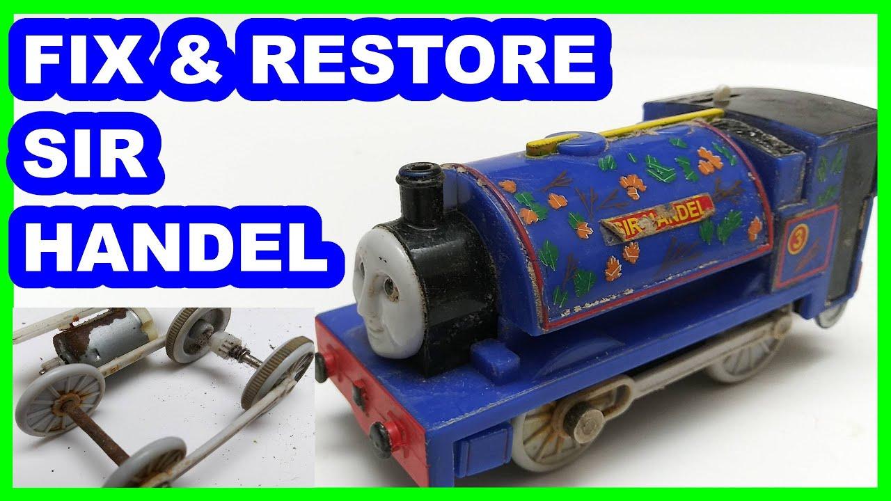 Fix & Restore Sir Handel Trackmaster Thomas & friends Thomas y sus amigos Томас и друзья きかんしゃトーマス