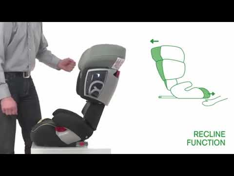 Cybex Solution X-Fix Rumba Red Group 2-3 Car Seat- Smyths Toys