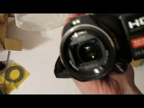Распаковка Sony HDR PJ810E