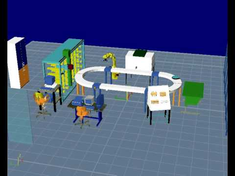 U of M Reconfigurable Manufacturing Simulation Project E