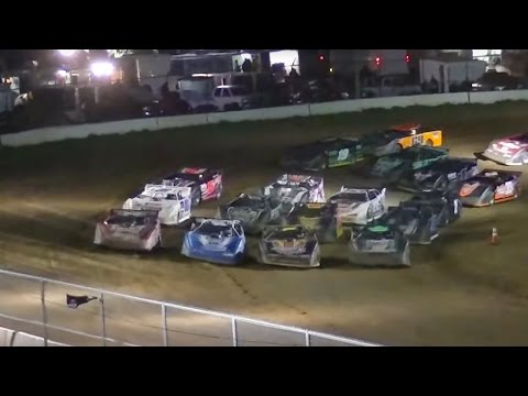 ULMS Super Late Model Feature | McKean County Raceway | Fall Classic | 10-10-15
