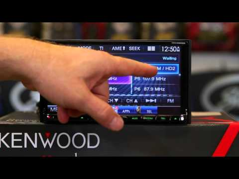 How to use the HD tuner on Kenwood