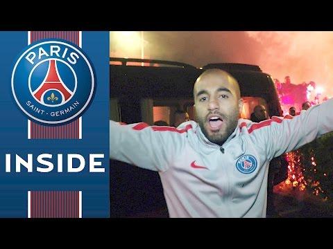 INSIDE - MARSEILLE VS PARIS SAINT-GERMAIN with LUCAS