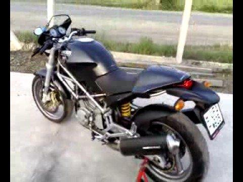 Ducati Monster Remus Exhaust