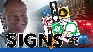 How to Read Road Signs to Pass Your Road Test & NOT Crash