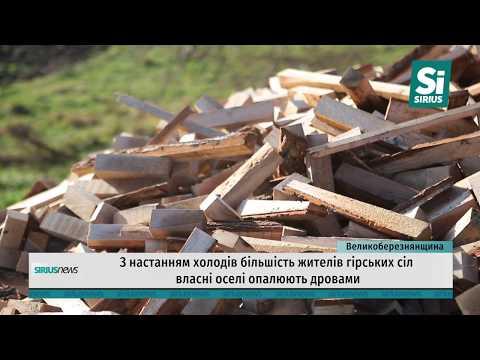 З настанням холодів більшість жителів гірських сіл власні оселі опалюють дровами