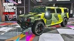 GTA 5 ONLINE AFTER HOURS DLC - MAMMOTH PATRIOT HIDDEN UNRELEASED CAR CUSTOMIZATION & TEST