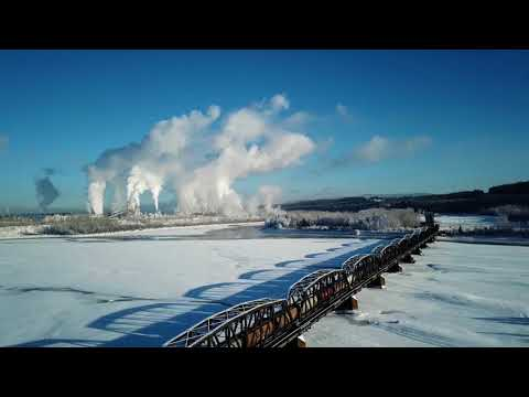 Aerial Footage of Prince George.BC.CANADA