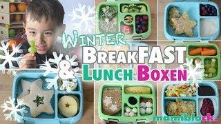 8x Frühstück für Kindergarten und Schule |❄️ Winter Lunchbox ❄️| mamiblock