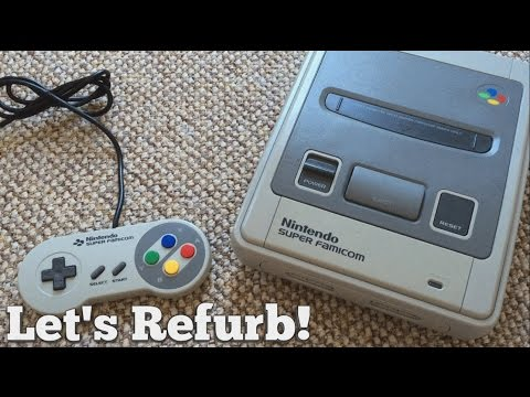 Let's Refurb! - How To Clean A Super Famicom!