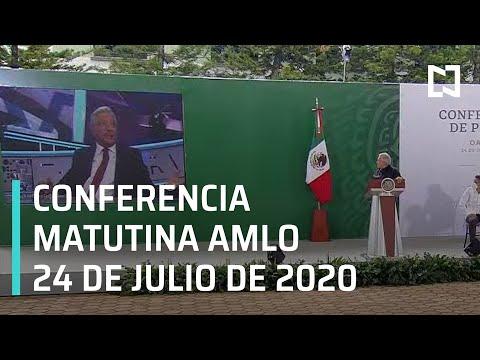 Conferencia matutina AMLO / 24 de julio de 2020