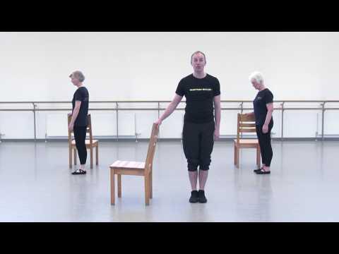 Scottish Ballet Health & Fitness Episode 6: Ballet for 55+ (Part 1)