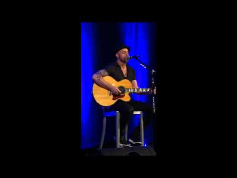 """Chris Daughtry """"Home"""" Acoustic"""