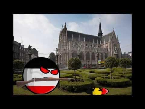 WW1 (World war 1) at countryballs