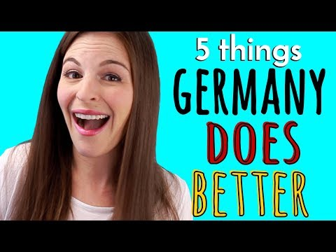 5 Things GERMANY DOES BETTER than USA