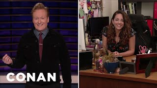 Sona Is Trying To Out-Binge-Watch Robert De Niro's Assistant - CONAN on TBS