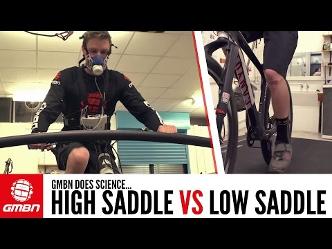 Saddle Up Or Saddle Down For Mountain Biking? | GMBN Does Science