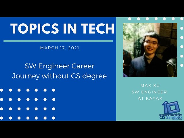 Max Xu (Kayak) - Topics in Tech