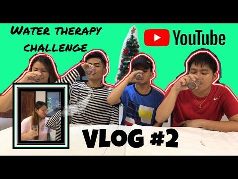 WATER THERAPY CHALLENGE  ft. Nicole Candelaria De Dios & Claire De Dios (Vlog#2!!!)