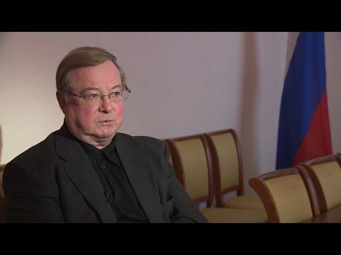 ГТРК «Псков», «Вести 24»,  Интервью председателя набсовета Фонда ЖКХ Сергея Степашина