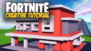 Fortnite Creative Tutorial: KFC Restaurant Build
