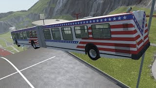 BeamNG.drive  - Articulated Frame component for Bus