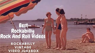 Best Rockabilly Rock And Roll Videos - Rockabilly vintage video jukebox (mix #01 / 4K)
