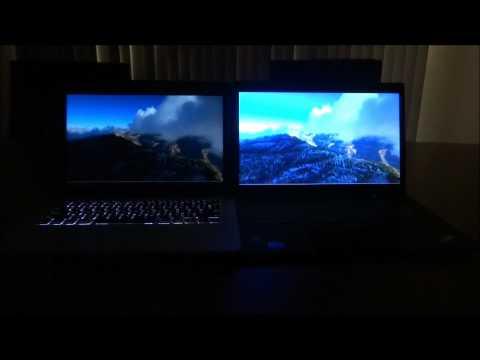 Glossy Vs. Matte Screen Comparison on Laptops