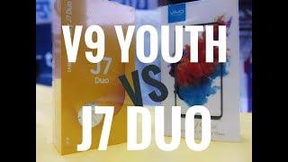 VIVO V9 YOUTH  VS SAMSUNG GALAXY J7 DUO | SPEED TEST | COMPARASION | CAMERA