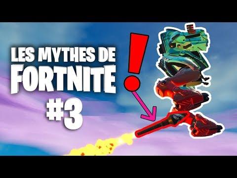 ROCKET RIDE AVEC LA B.R.U.T.E ?   Mythes de Fortnite - épisode 3 feat. Ionix