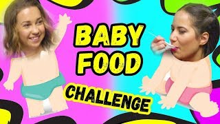 BABY FOOD Challenge | Studio Queen's №32