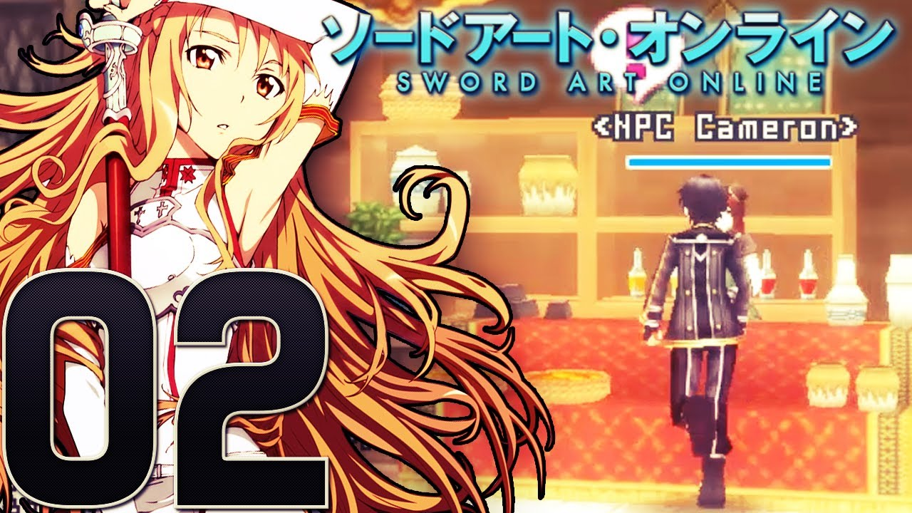 Lets Play Sword Art Online Infinity Moments - Part 2 - Yui, Liz ...