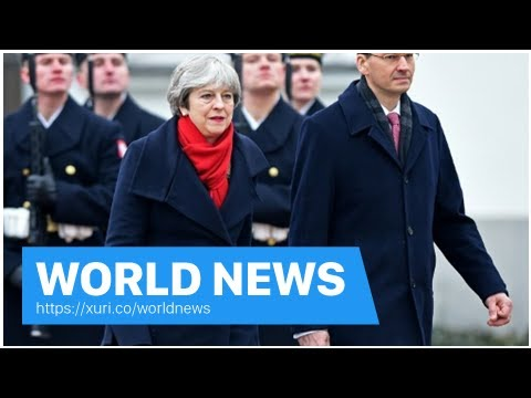 World News - England Poland sign the Treaty before the Brexit