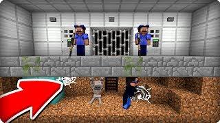 🚔КАК ПРАВИЛЬНО СБЕЖАТЬ ИЗ ТЮРЬМЫ В МАЙНКРАФТ 100 ТРОЛЛИНГ ЛОВУШКА Minecraft ПОЛИЦИЯ В МАЙН