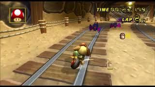 [Mario Kart Wii 300cc TAS] Wario's Goldmine 51:218 (no glitch)