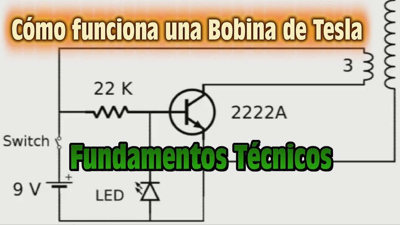 Circuito Bobina De Tesla : Como funciona una bobina de tesla fundamentos tecnicos