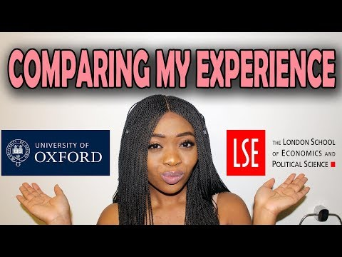 COMPARING MY TIME AT OXFORD UNIVERSITY WITH LSE - My Honest Review