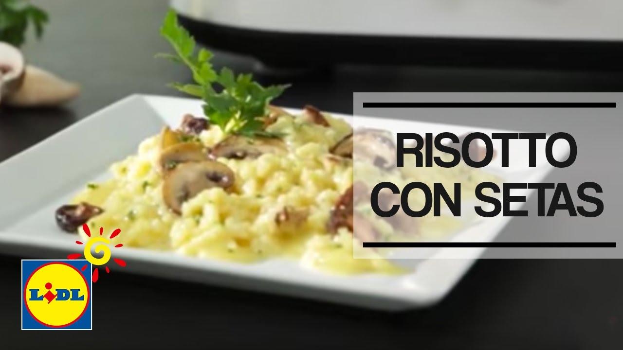 Risotto con setas monsieur cuisine plus lidl espa a - Risoto con setas ...
