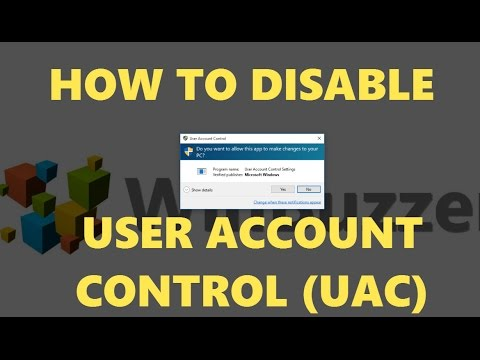 Turn User Account Control On or Off - How to disable UAC