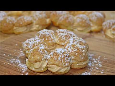 Muhteşem kremasıyla harika bir lezzet ekler Pastası || Fransanın meşhur pastası Paris-Brest ||