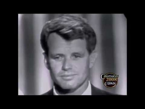 JFK & RFK Convention Speeches at the 1960 and 1964 DNC