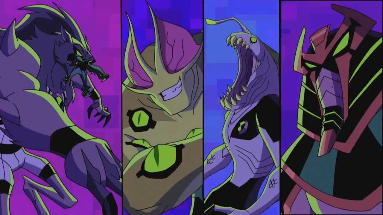 Ben 10 Omniverse: Galactic Monsters INTRO HD - YouTube