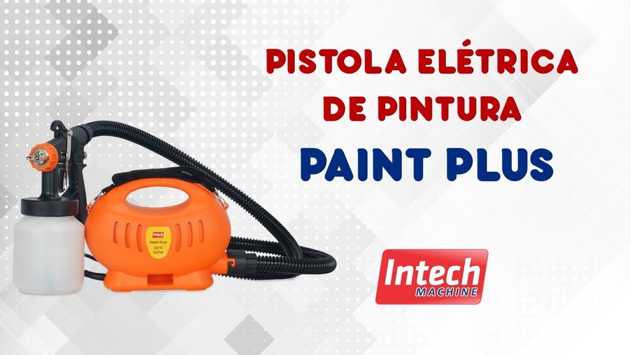 Intech Machine Pistola Elétrica De Pintura Paint Plus