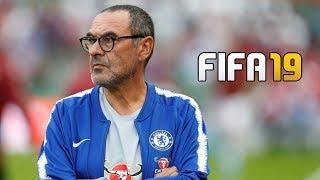 MAURIZIO SARRI CHELSEA CAREER MODE!! FIFA 19