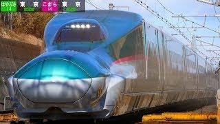東北新幹線 撮影記録 2018-2-7 / はやこま通過集